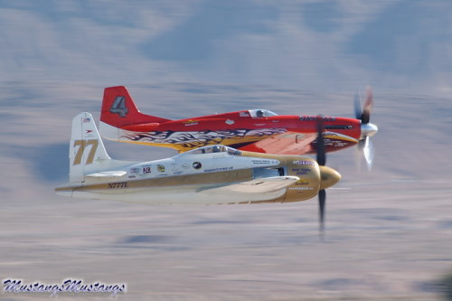 P-51 Mustang at Nellis 2004