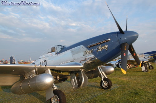 P-51 Mustang at Oshkosh 2004